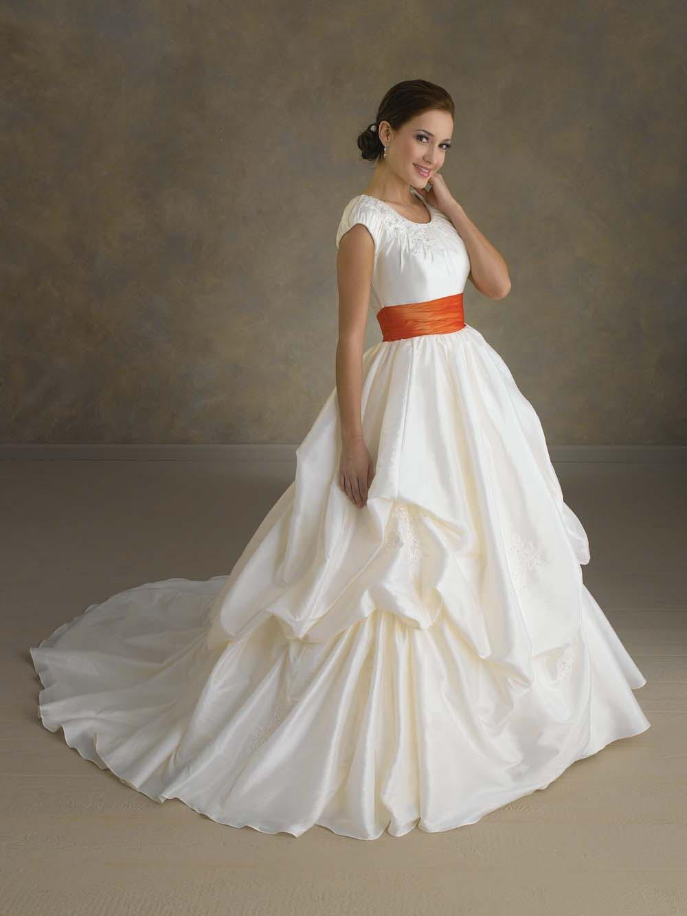 Decent White Ball Gown