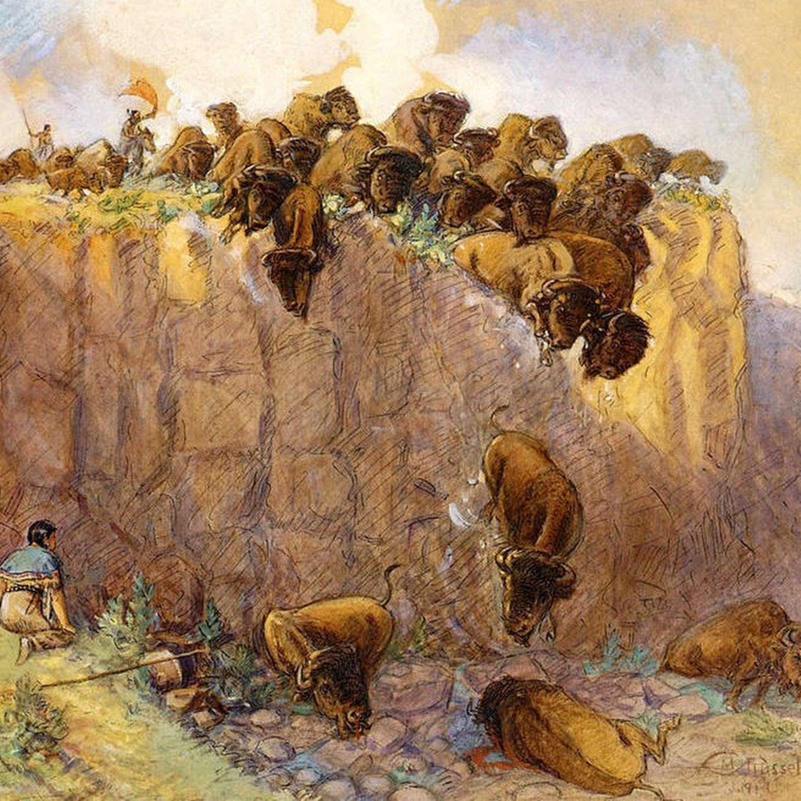 The Buffalo Jumps of North America