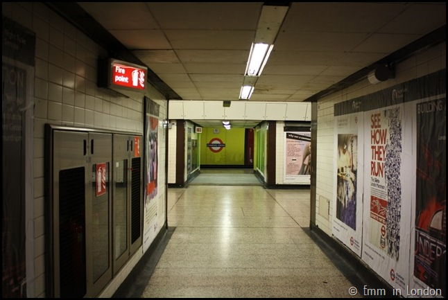 Disused Corridor in Charing Cross Station