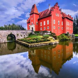 red-castle Bohemia by Janez Podnar - Buildings & Architecture Architectural Detail (  )