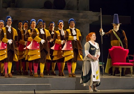IN PERFORMANCE: Giaochino Rossini's LA CENERENTOLA at Washington National Opera, 17 May 2015 [Photo by Scott Suchman, © Washington National Opera]
