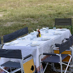 Camelthorn Lodge, Lunch im Freien © Foto: Ulrike Pârvu | Outback Africa Erlebnisreisen
