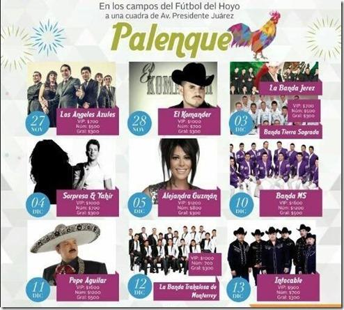 Palenque Tlalnepantla 2015 venta de boletos baratos en primera fila VIP