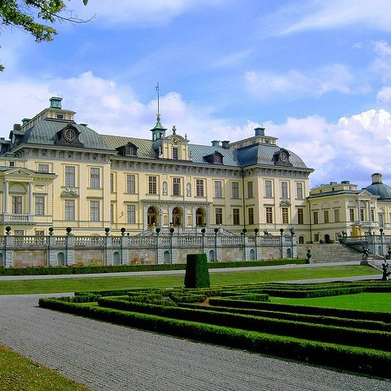 Drottningholm Palace is on UNESCO's World Heritage list.