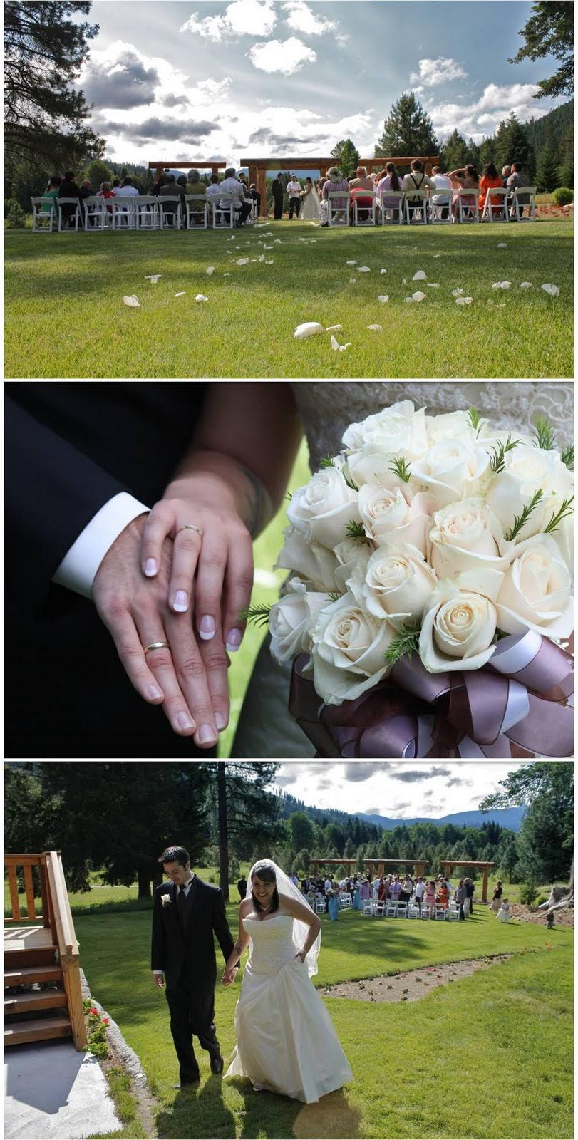 outdoor garden ceremony,