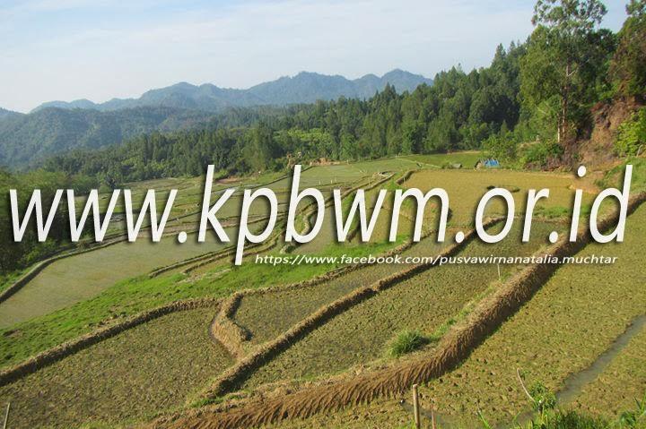 sawah kabupaten mamasa sulawesi barat