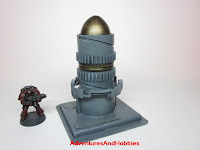 Industrial equipment Science Fiction war game terrain and scenery