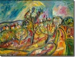 kremegne-pinchus-pinchas-1890-paysage-aux-grands-arbres-cere-1371005