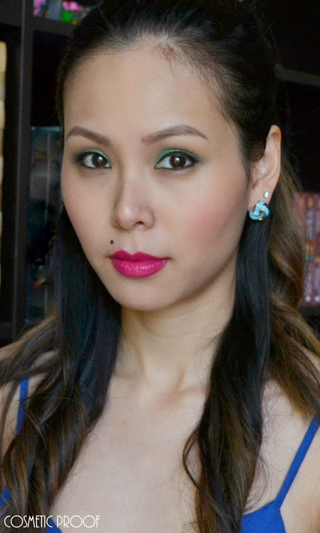 NYC Beauty Pro Makeup Look Andy Warhol Pop Art Bold Lip (6)