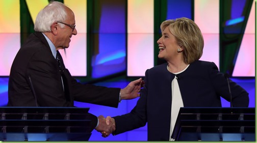 hillary and bernie