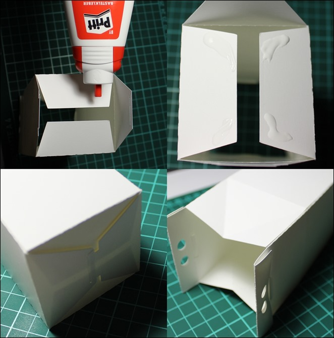 Adventskalender Idee DIY Milchkartons selbstgemacht Anleitung 12