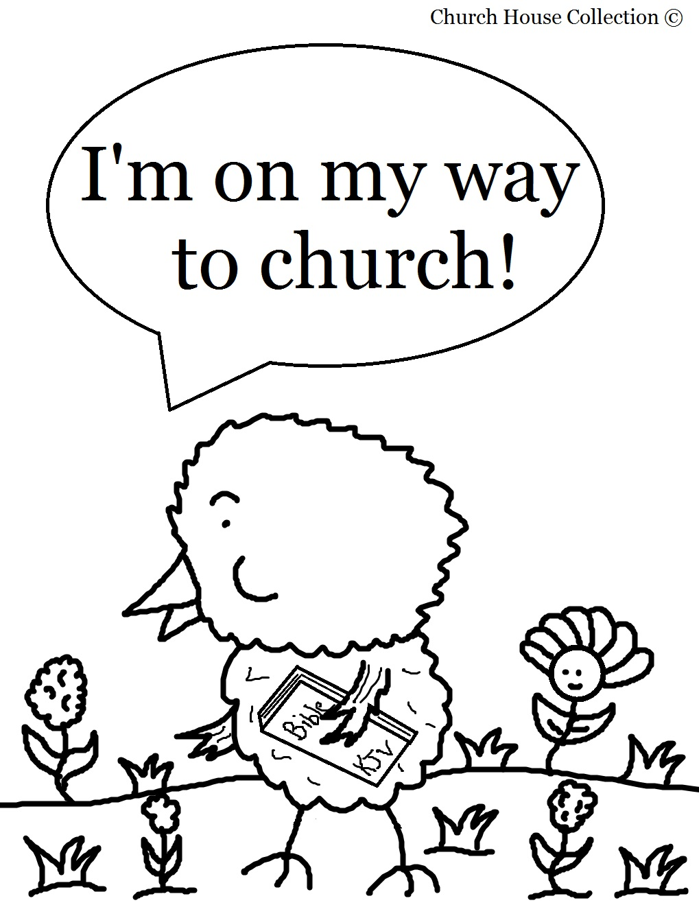 Bible-Based Sunday School Coloring Pages for Children - christian coloring pages for children
