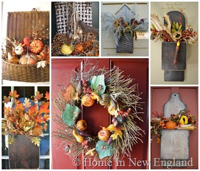fall door arrangements