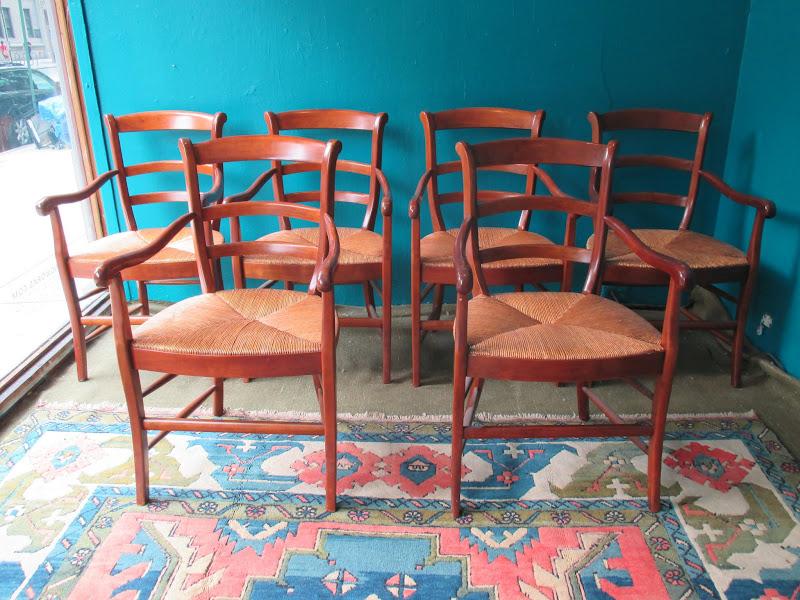 Antique Armchair Set