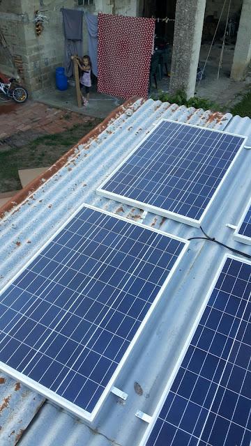 attache modul solar