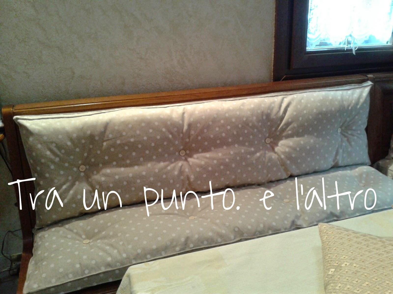 Cuscini per panche da interno casamia idea di immagine for Interno per cuscini