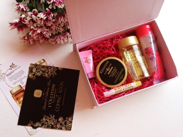 MY ENVY BOX OCTOBER 2015 2 YEAR ANNIVERSARY EDITION
