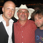 It was a star-studded party.  Charlie poses with Jerry Flowers from Keith Urban's band and Izzy from Dierks' crew