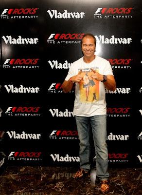 Кай Абель на F1 Rocks Afterparty Гран-при Индии 2011