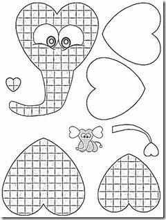 moldes animales foami para niños (6)