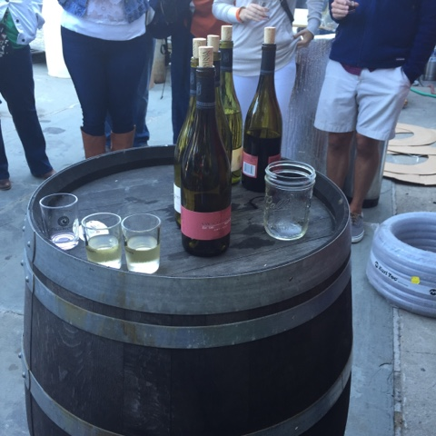 Tasting Nantucket Vineyards Chardonnay and Pinot Noir