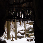 La grotte de l'ermite Michel