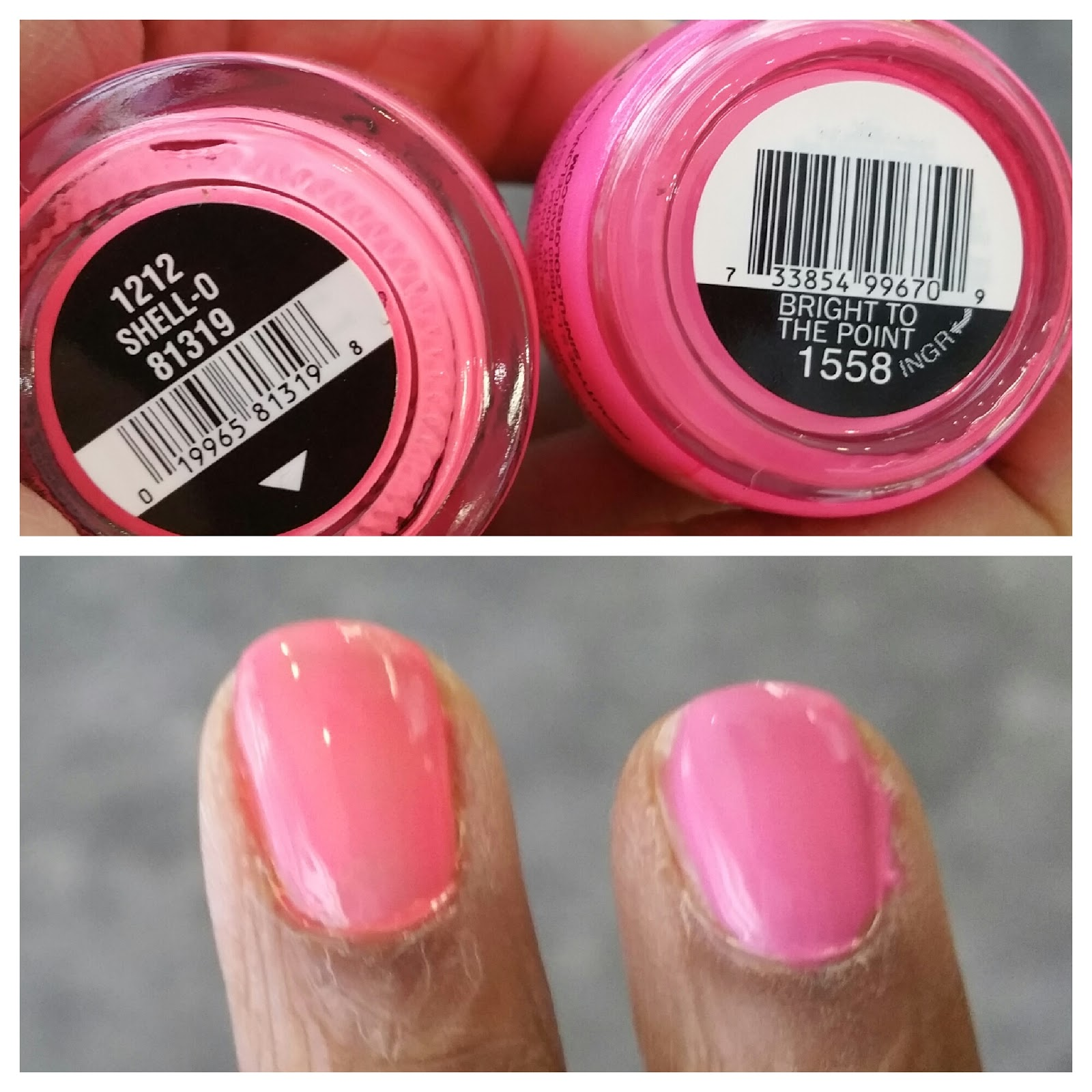 Beauty on a Budget: Sinful Colors Neon Nailpolish