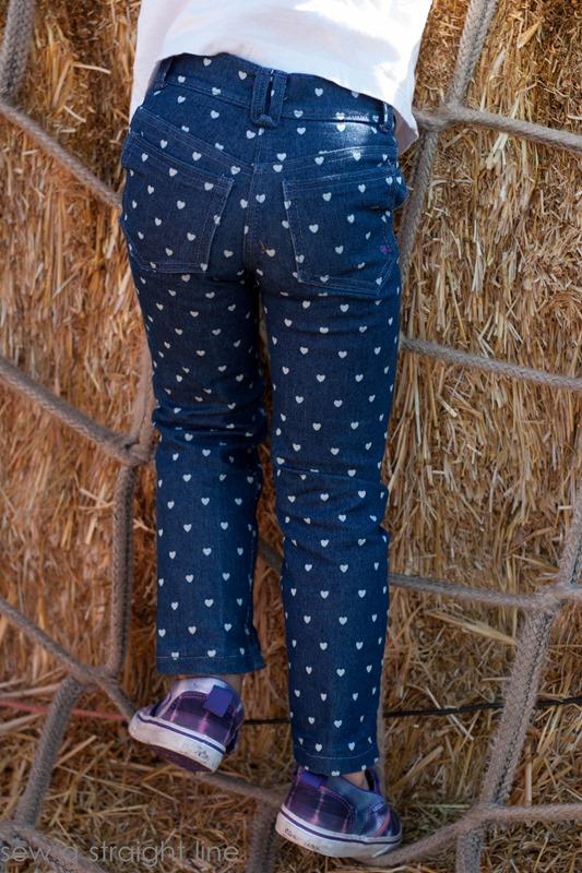 Ottobre Skinny Jeans sew a straight line-4
