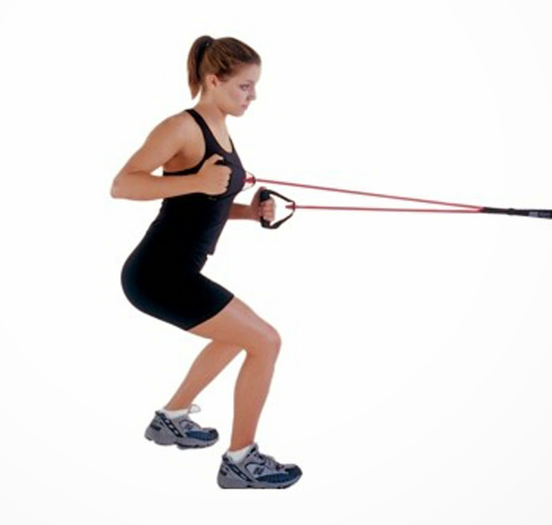 Exercise Bands With Handles Walmart: Pull Bands Handles Resistance Bands Foam Handle