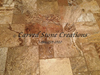 "24"" x 96"" x 2"" Scabos Travertine Slab Honed/Unfilled Finish"