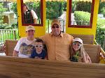 The Freys on the Disney railroad in Disney 06052011