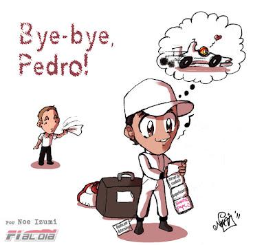 анимешная картинка Noe Izumi - Педро де ла Роса уходит в HRT