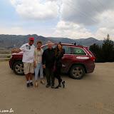 Parada no mirador - encontrando Natália e Artur, rumo a Baños, Equador