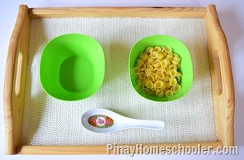 Scooping Pasta