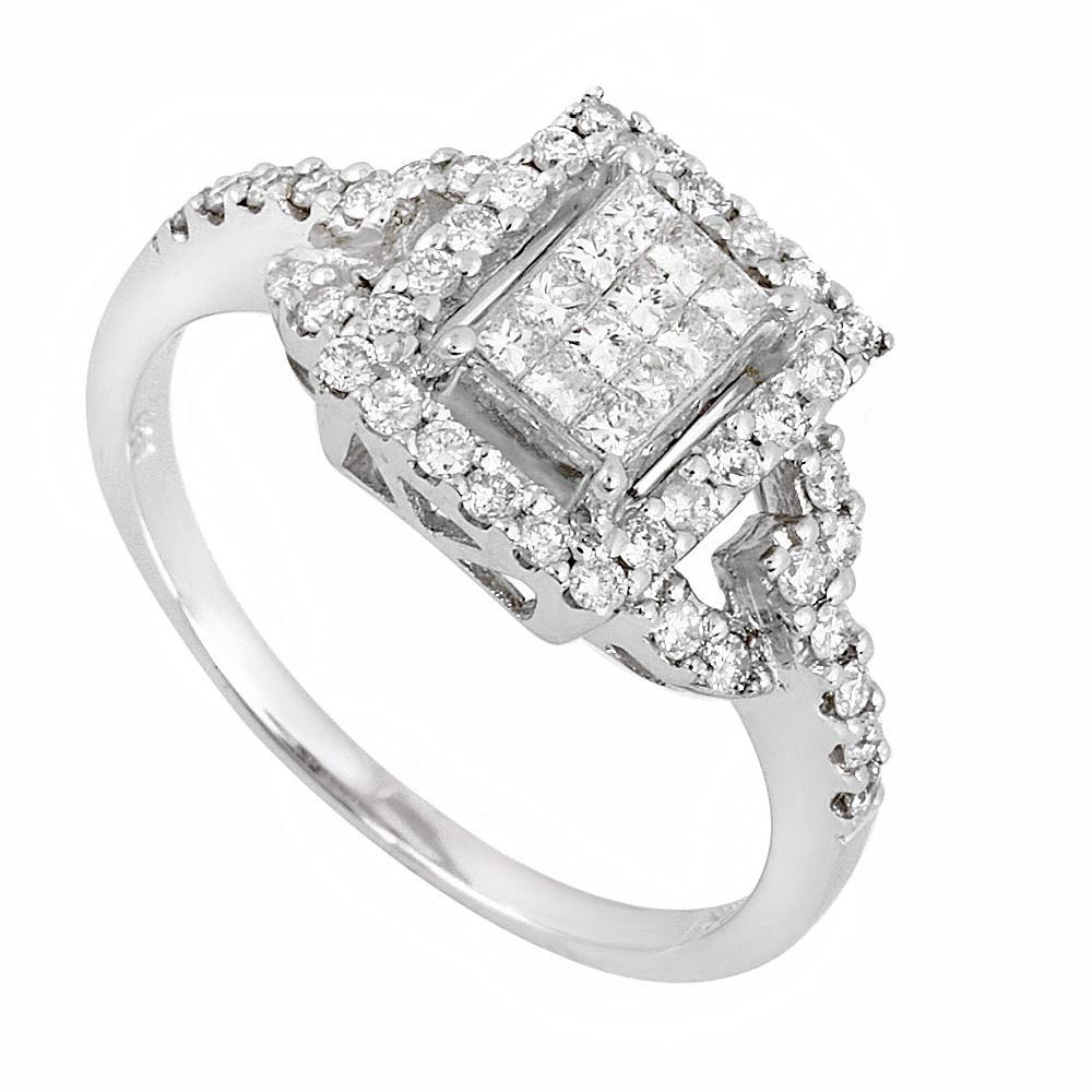 Round Princess Cut Diamond
