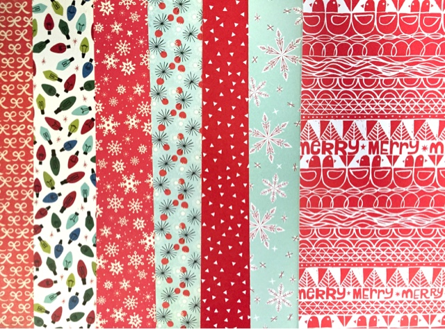 Collage Is Obsessed With Pretty Papers At All Three Locations We Have A Large Selection Of 12x12 Patterned Which Are Perfect For Holiday Cards
