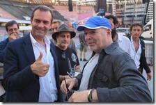 Luigi De Magistris con Vasco Rossi