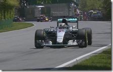 Hamilton conquista la pole del gran premio del Canada 2015