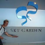 sky garden at yokohama landmark in Yokohama, Tokyo, Japan