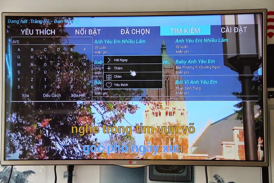 Android box chính hãng Karabox xem TV miễn phí vừa Karaoke thỏa thích