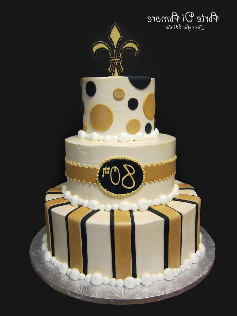 Yesenias Blog Black And Gold Cake By