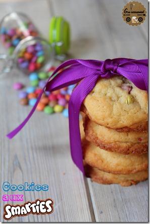 Cookies aux Smarties 16