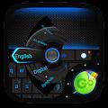 Free Dark Blue GO Keyboard Theme APK for Windows 8