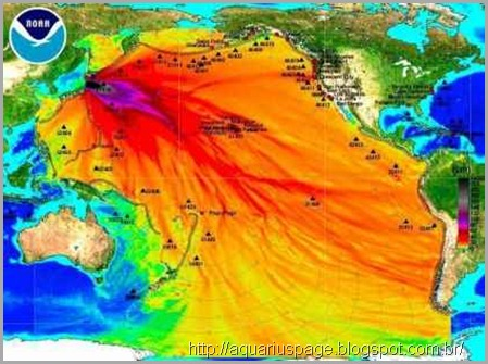 fukushima e a pluma radiotiva