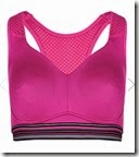 High Impact Non Padded Crop Top Sports Bra