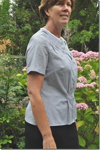 Side blouse