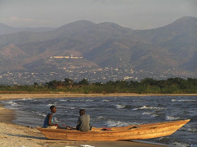 Fishermen on Lake Tanganyika, Burundi