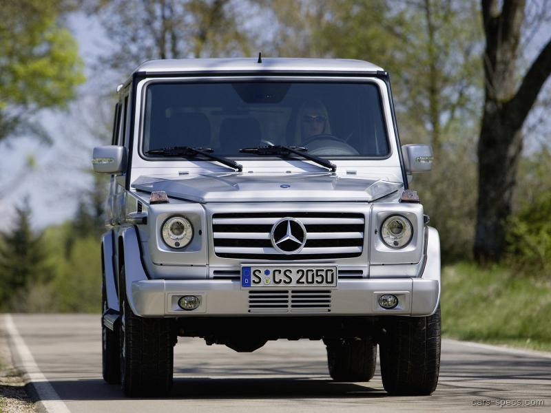 2007 Mercedes Benz G Class Suv Specifications Pictures