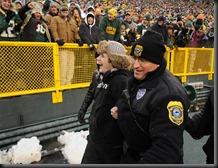 Cheryl's View Point....Ethan being Escorted off the Field!