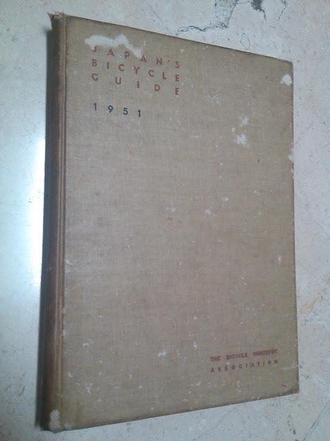 Buku Tua Japan's Bicycle Guide Tahun 1951